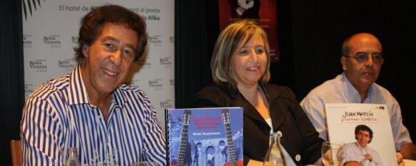 Presentan el curso de guitarra que imparte Juan Martín, Ha sido organizado por el Hotel Catalonia Reina Victoria y participan quince alumnos de distintos países, 18 Sep 2012 - 18:12