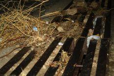 El alcantarillado no pudo absorver la gran cantidad de agua y barro. // CharryTV