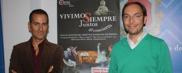 """Cultura presenta el musical """"Vivimos siempre juntos"""" dedicado a Mecano, Se pondrá en escena en el Teatro Municipal Vicente Espinel este sábado, 27 Sep 2012 - 18:52"""