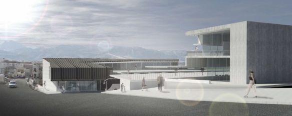 Invertirán 2,5 millones en la nueva estación de autobuses y biblioteca comarcal, El trabajo del arquitecto catalán Luis Ángel Domínguez ha resultado ganador del concurso de ideas , 03 Oct 2012 - 23:04