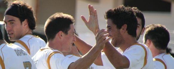 Festín y vendetta del C.D. Ronda ante el Motril C.F. , El canterano Alfonso marcó en su debut. Guirado, Calderón y Salva García fueron los otros artífices de la goleada., 28 Nov 2010 - 14:58