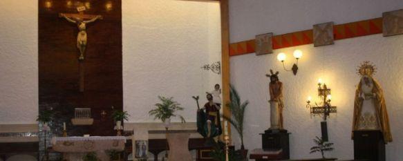 Las carcomas provocan el traslado de todas las imágenes de la iglesia de San Cristóbal, La Columna y la Asociación Parroquial San Cristóbal toman la misma decisión que El Prendimiento, 09 Oct 2012 - 10:11