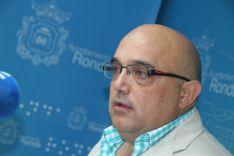 Jesús Vázquez, concejal de Salud del Ayuntamiento de Ronda. // CharryTV