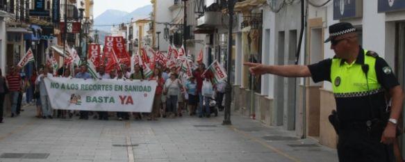 El Sindicato Médico Andaluz convoca una huelga para mañana por los recortes en sanidad, Se llama a la huelga a todo el personal facultativo del hospital y centros de salud rondeños, así como a las áreas de Algatocín y Benaoján, 22 Oct 2012 - 16:11