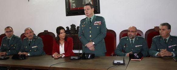 Destacamentos de la Guardia Civil realizan su encuentro anual en la ciudad, El General Laurentino Ceña ha pasado revista a los efectivos de Ronda, Antequera y Marbella, 22 Oct 2012 - 16:24