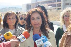 La Consejera de Salud, María Jesús Montero, durante su última visita a Ronda el pasado mes de marzo. // CharryTV