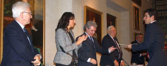 La RMR concede 100.000 euros en galardones en la XV edición de sus becas y premios, El acto celebrado esta tarde ha estado presidido por el ex ministro de Cultura, César Antonio Molina, 09 Nov 2012 - 20:39