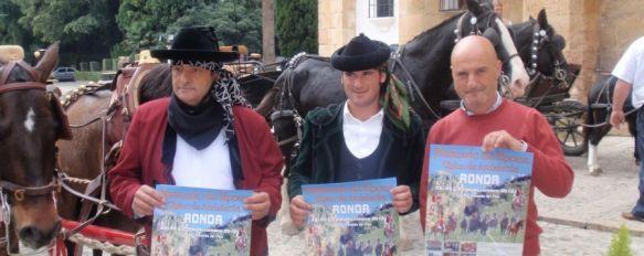 Ronda acoge este fin de semana un mercado de productos típicos andaluces, Se llevarán a cabo diferentes actuaciones centradas en el mundo del caballo y estará presente el popular burro