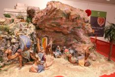 El Belén se encuadra dentro de las distintas exposiciones que la Fundación Unicaja organiza tradicionalmente con motivo de la Navidad en distintas ciudades. // CharryTV