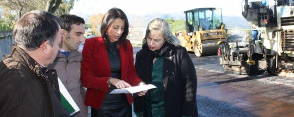 Comienzan en La Dehesa los trabajos de asfaltado de trece calles de la ciudad , El proyecto cuenta con una inversión de 261.000 euros procedentes de los Planes Provinciales de la Diputación de Málaga, 18 Dec 2012 - 16:10