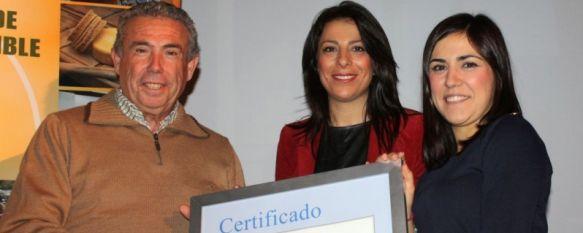 Seis parques naturales andaluces renuevan en Ronda la Carta de Turismo Sostenible, En el acto celebrado en el Convento de Santo Domingo también han sido reconocidas empresas e instituciones locales, 18 Dec 2012 - 20:58