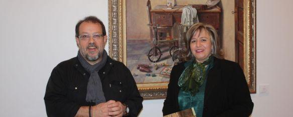 El pintor segoviano Ricardo Renedo trae a Ronda su colección