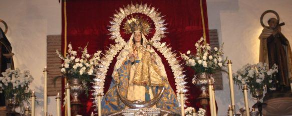 Celebran la misa oficial en honor a la Virgen de la Paz , Cientos de personas han participado en la novena de la Patrona de Ronda, 25 Jan 2013 - 18:40