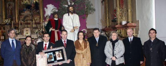 El Prendimiento y el Consorcio Provincial de Bomberos celebran su acto de hermanamiento, La firma del acuerdo se celebró el pasado sábado en el santuario de María Auxiliadora, 04 Feb 2013 - 10:21