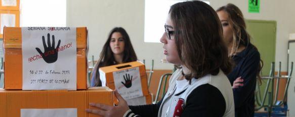Una Semana Solidaria en el Instituto Pérez de Guzmán , Se realizará desde el 18 hasta el 22 de febrero y participarán comercios de toda la Serranía, 04 Feb 2013 - 19:40