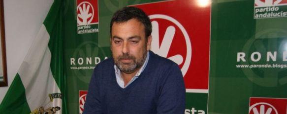 Sergio Flores, secretario general del Partido Andalucista. // CharryTV