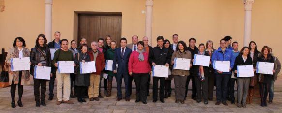 21 empresas e instituciones de la comarca obtienen el diploma de calidad, El distintivo se enmarca en el Sistema Integral de Calidad Turística en Destino (SICTED), 14 Feb 2013 - 21:04