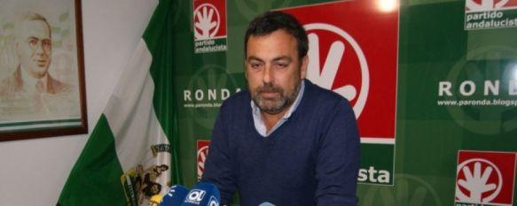 El Partido Andalucista revisará el pacto de gobierno con el Partido Popular, El secretario general del PA afirma que