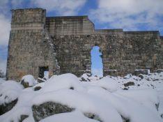 Instantánea de esta mañana en las ruinas de Acinipo. // Ani González