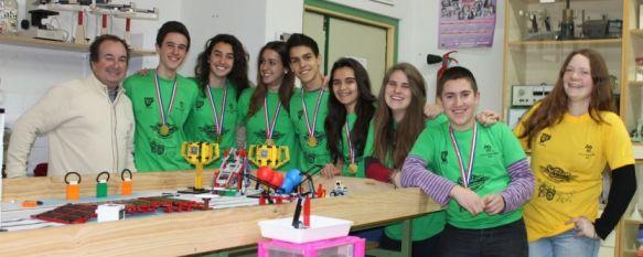 Emulando al profesor Rodríguez Delgado, 8 alumnos rondeños estarán en la fase nacional de la First Lego League, una prestigiosa competición científica , 12 Mar 2013 - 01:55