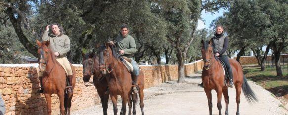 Reservatauro aumenta su atractivo con rutas a caballo, Próximamente la finca albergará una escuela de equitación y una zona de eventos, 13 Mar 2013 - 18:37