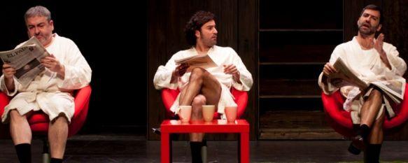 El Amor de Eloy, una interesante propuesta teatral en el Vicente Espinel, Se trata de una divertida comedia con un reparto plagado de rostros conocidos en el panorama nacional , 19 Mar 2013 - 16:49