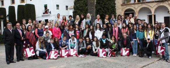 Comenius trae a Ronda a medio centenar de alumnos de seis países europeos, Este programa educativo de intercambio está siendo coordinado por el Instituto Pérez de Guzmán, 09 Apr 2013 - 19:37