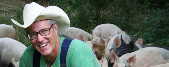 El mejor agricultor del mundo visita por primera vez Europa para impartir un curso en Ronda, Más de 150 personas ya se han inscrito para aprender las técnicas de Joel Salatin en la finca La Donaira , 18 Apr 2013 - 23:48