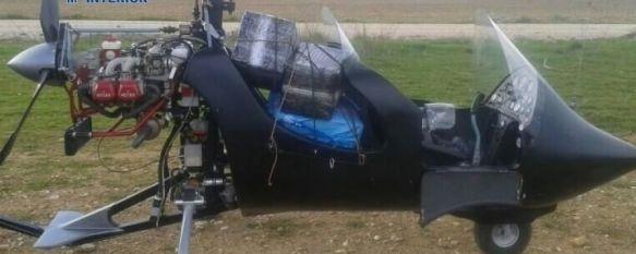 La operación San Carlos contra el narcotráfico concluye con tres nuevas detenciones, El pasado 31 de diciembre los cuerpos de seguridad interceptaron en Ronda un autogiro cargado con 110 kilos de hachís, 24 Apr 2013 - 11:16