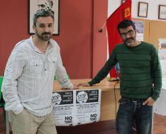 Antonio Durán y Raúl Hoyos asesoran a alrededor de una decena de familias arriateñas. // CharryTV