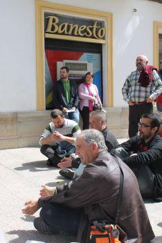 El caso de Cristóbal fue el primero que provocó una protesta de este tipo en la ciudad. // CharryTV