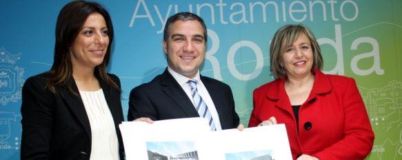 La Diputación recuerda que invertirá más de 3 millones de euros en Ronda, La actuación más importante es la construcción de la nueva biblioteca comarcal, dotada con 600.000 euros, 01 May 2013 - 12:49