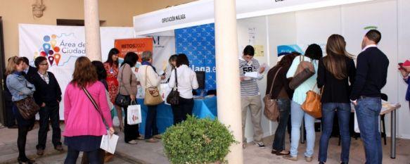 Ronda acoge la I Feria de Empleo en la que participan más de veinte empresas y entidades, El evento, que se desarrolla en el Convento de Santo Domingo, contempla distintas actividades relacionadas con la formación, 17 May 2013 - 10:42
