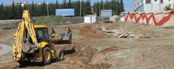 Comienzan los trabajos para la construcción del nuevo skate park y nueve pistas de petanca, Se trata de la única inversión que contemplan los presupuestos municipales para el presente ejercicio, por un importe de 183.000 euros, 23 May 2013 - 19:28