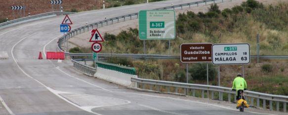 La Junta descarta colocar semáforos reguladores en la carretera de Ardales, La principal vía de conexión entre la Serranía y la capital permanece cortada desde hace dos meses, 31 May 2013 - 12:18