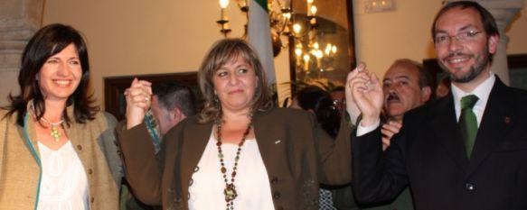 El Partido Andalucista presenta en el Casino su lista electoral, Isabel Mª Barriga presentó su lista electoral ante un gran número de militantes y simpatizantes, arropada por la Secretaria General Pilar González., 31 Mar 2011 - 18:38