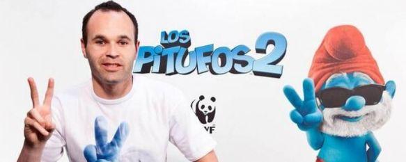 Andrés Iniesta visitará Júzcar a mediados de julio para promocionar Los Pitufos 2, Sony Pictures y la organización conservacionista WWF anuncian un proyecto de reforestación en los alrededores del municipio, 05 Jun 2013 - 16:57