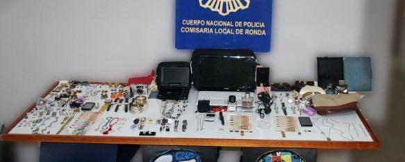 Cuatro detenidos por su participación en un robo con fuerza en una vivienda de Ronda, Los presuntos autores de los hechos son ciudadanos extranjeros con edades comprendidas entre los 19 y 26 años, 17 Jun 2013 - 14:20