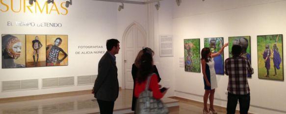 'Surmas: El Tiempo Detenido'. El colorido de África en el Museo Peinado, La Fundación Unicaja inaugura una exposición fotográfica de Alicia Núñez, centrada en esta remota tribu etíope , 19 Jun 2013 - 20:59