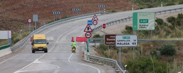 La Junta de Andalucía reabrirá mañana provisionalmente el tramo de la 'Venta El Cordobés' , La zona ha permanecido cortada al tráfico durante los últimos tres meses por un nuevo deslizamiento de tierra, el cuarto desde la construcción de la vía en 2009, 20 Jun 2013 - 20:49