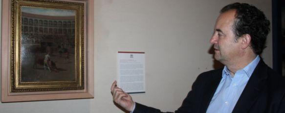 La Real Maestranza de Caballería de Ronda expone desde hoy una obra de Francisco de Goya , La pintura se titula 'Lance de capa en un encierro' y fue realizada por el artista aragonés en 1793, 26 Jun 2013 - 11:19