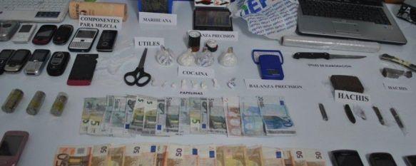 Cae un clan familiar dedicado al tráfico de drogas en Ronda, La Policía Nacional detiene a doce personas, diez de ellas de la misma familia, tras el registro de cuatro domicilios en Ronda y Benaoján, 04 Jul 2013 - 12:23