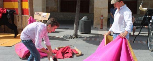 Las promesas del toreo acercan su arte a los visitantes con motivo del Día del Turismo, Un puente tibetano, vías ferratas o jornadas de puertas abiertas en museos, son algunas de las actividades que ofrece la ciudad estos días, 26 Sep 2013 - 18:52
