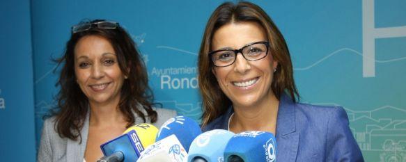 Concha Muñoz sustituye a Isabel María Barriga como concejal de Vivienda, La alcaldesa de Ronda ha apuntado que el objetivo de este traspaso es