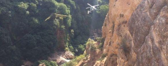 Fallece un hombre en el Tajo mientras hacía barranquismo, La víctima, de 37 años de edad, era natural de Marbella y se encontraba realizando la actividad con una empresa de turismo activo, 06 Oct 2013 - 20:22