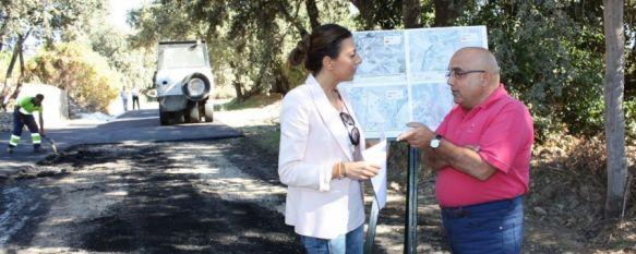 Arreglan siete caminos públicos incluidos en la Ruta de los Vinos y las Bodegas de Ronda, Las obras cuentan con una inversión de 150.000 euros por parte de la Diputación de Málaga, 16 Oct 2013 - 20:09