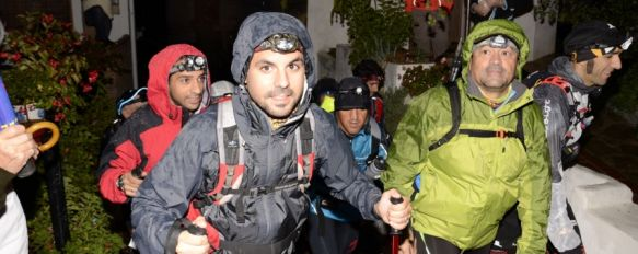 Más de 300 marchadores recorren desde esta madrugada el Valle del Genal, La prueba se desarrolla con un ritmo superior al previsto y a las 9:30 horas los primeros clasificados ya habían llegado a Parauta, 26 Oct 2013 - 10:38