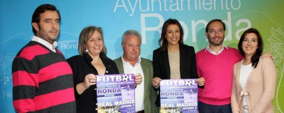 Organizan el I Trofeo Memorial 'Ángel Harillo' con la presencia del Real Madrid Juvenil, Estará presente el nieto del homenajeado, Curro Harillo, y tendrá lugar el 17 de noviembre en la Ciudad Deportiva, 06 Nov 2013 - 19:09