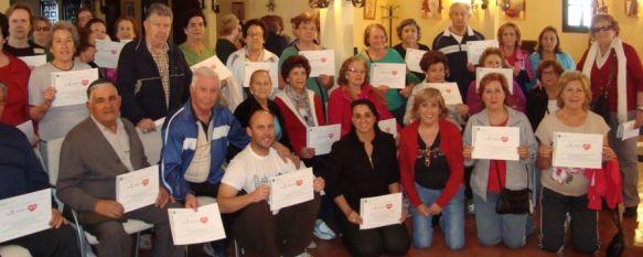 El Centro Participación Activa finaliza la primera fase del proyecto 'Por un millón de pasos', Esta iniciativa se enmarca en el Plan para la Promoción de la Actividad Física y la Alimentación Equilibrada, 11 Nov 2013 - 18:31