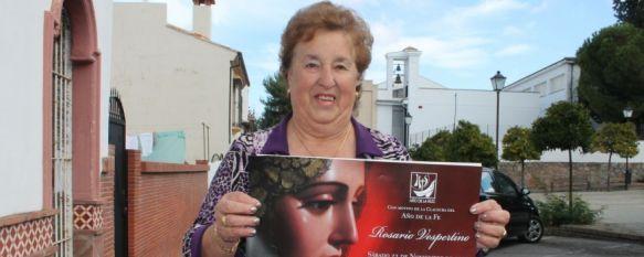 La Virgen de la Paloma sale a la calle con motivo de la clausura del Año de la Fe, El acto se llevará a cabo el próximo sábado a las 16.30 horas por algunas calles de la barriada de La Dehesa, 19 Nov 2013 - 19:47
